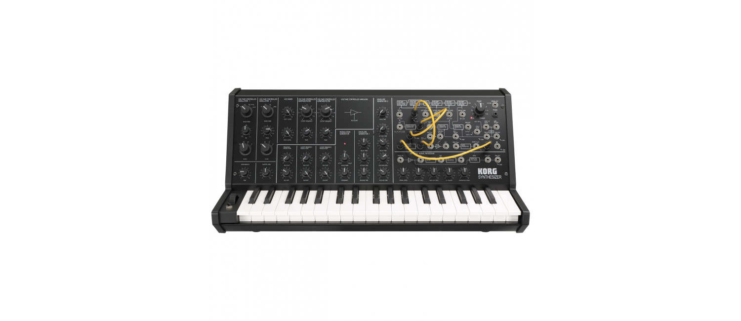 ms20 mini korg ms20 mini monophonic analog synthesizer at westend dj london. Black Bedroom Furniture Sets. Home Design Ideas