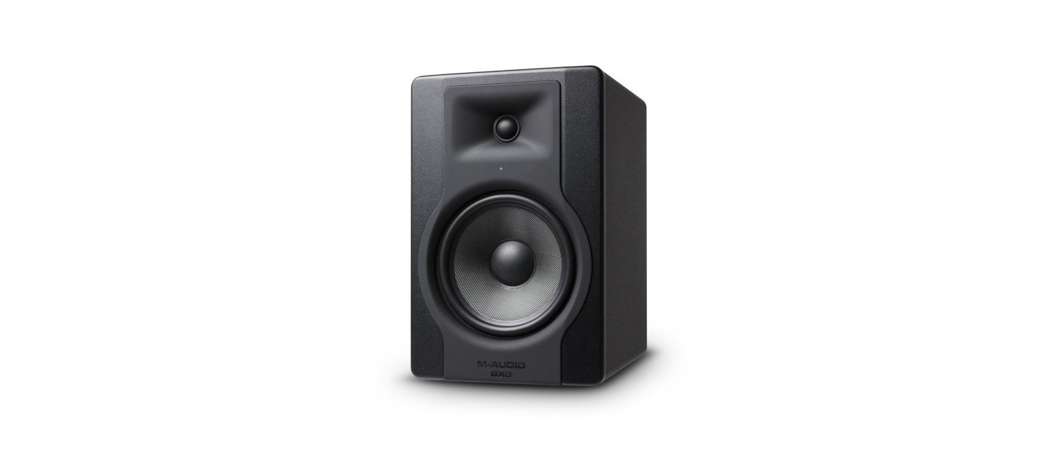m audio bx8 d3 active 8inch studio monitor single. Black Bedroom Furniture Sets. Home Design Ideas