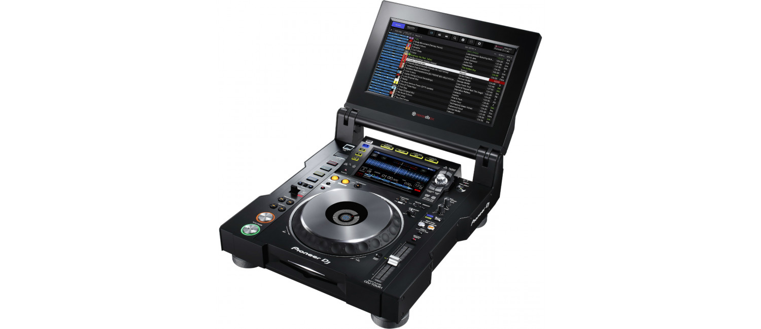 Pioneer Dj Cdj Tour1 Multi Player With Fold Out Touch