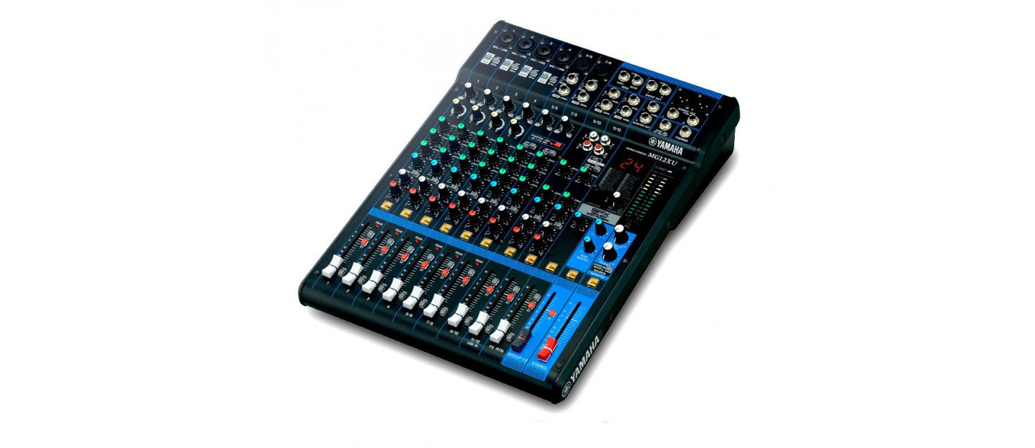 Yamaha Mg12xu 12 Channel Mixing Console With Effects And Usb