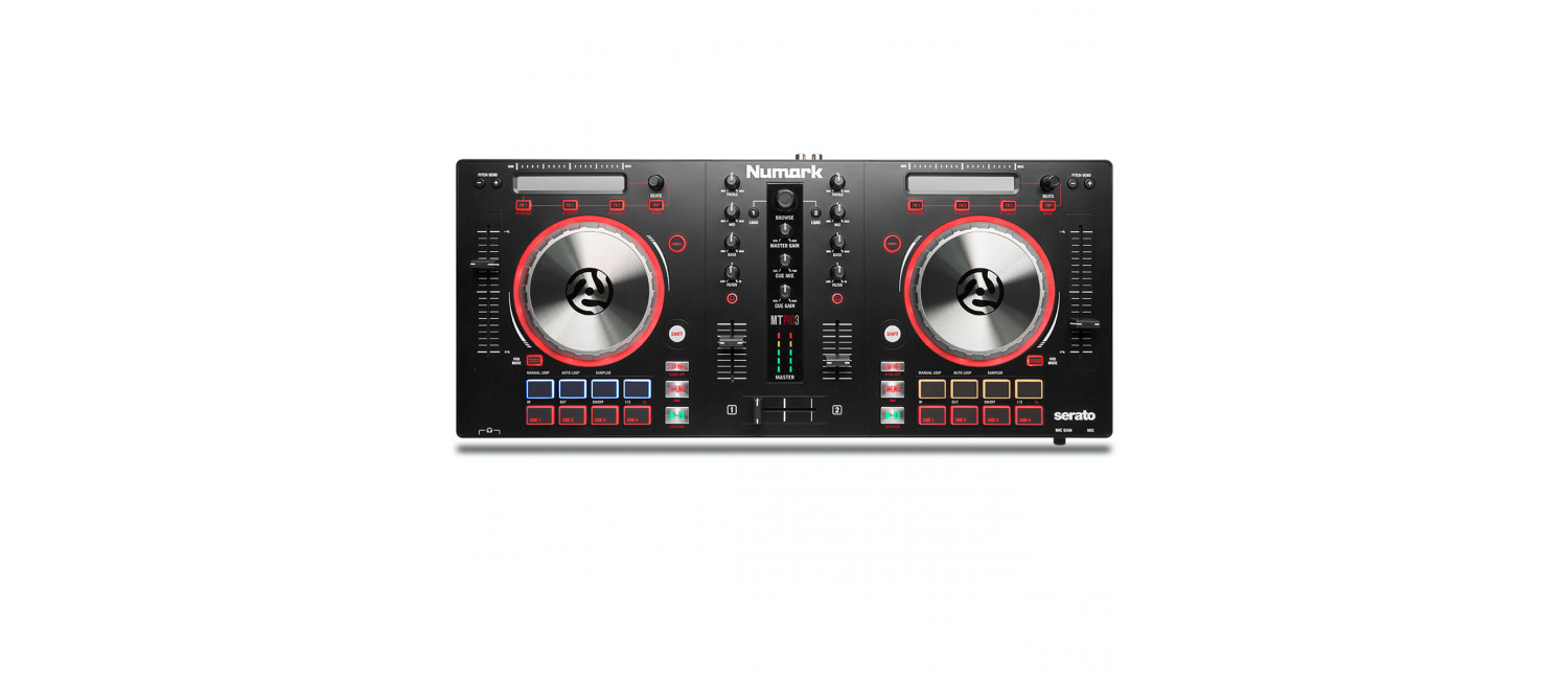 dj store dj equipment dj mixers gear audio lighting shop numark mixtrack pro 3 dj controller for serato dj