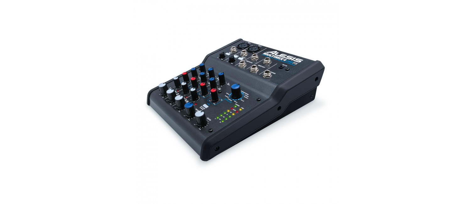 alesis multimix 4 usb fx 4 channel mixer with usb and built in effects. Black Bedroom Furniture Sets. Home Design Ideas