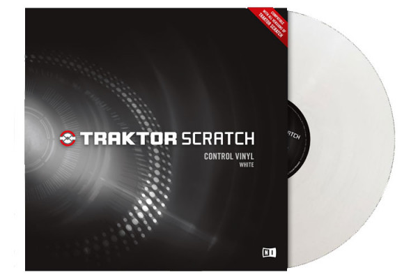 NATIVE INSTRUMENTS Traktor Scratch Vinyl - White