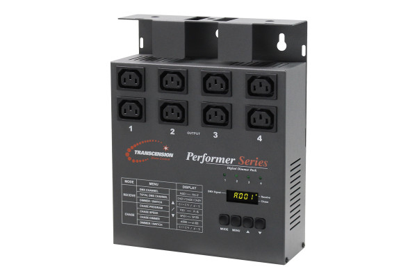 Transcension DMX Digital Dimmer Pack With IEC Outputs (BOTE27)