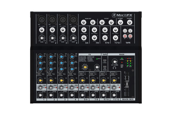 Mackie MIX12FX Compact Analog Mixer w/ Effects