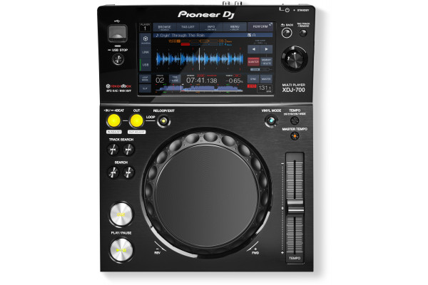 Pioneer XDJ-700 Compact USB Player With Touchscreen
