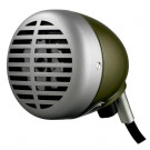 SHURE 520DX Green Bullet Mic for Harmonica/Lo Fi Vocals