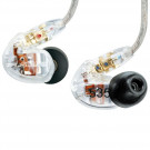 SHURE SE535 Sound Isolating Earphones - Clear