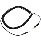 KRK KNS Coiled Headphone Cable for KNS6400/8400 - 2.5m
