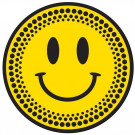 DMC Acid Happy face Slipmats MHAPPY Pair