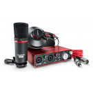 FOCUSRITE Scarlett 2i2 Studio (2nd Gen) Complete Recording Package