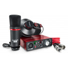 FOCUSRITE Scarlett Solo Studio (2nd Gen) Complete Recording Package