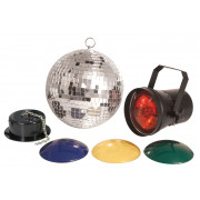 View and buy QTX Mirrorball Disco Light Set ( 151.720UK )  online