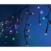 View and buy Fluxia Heavy Duty LED Icicle String Lights Multi Colour 5m (155.432UK) online