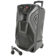 """View and buy QTX QK15PA Active 15"""" portable PA busker speaker system (178.867UK) online"""