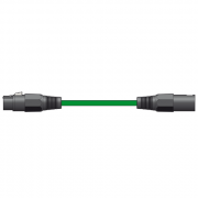 View and buy Chord Classic Male XLR to Female XLR Green ( 190.100UK ) online