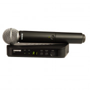 View and buy SHURE SM58 Wireless Analogue Vocal System (BLX24UK/SM58) online