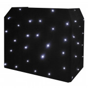 View and buy Equinox CW LED Star Cloth for DJ Booth ( EQLED12B ) online