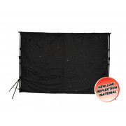 View and buy LEDJ 3 x 2m LED Starcloth System with Stand and Bag Set ( STAR01 ) online