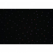 View and buy LEDJ PRO 6 x 3m Tri LED Black Starcloth System (STAR12) online