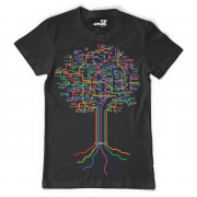 View and buy DMC Technics Roots T-Shirt A12101 Black online