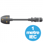 View and buy Mercury 10A UK to IEC mains power lead 1m ( 114.003UK ) online