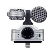 View and buy ZOOM IQ7 Mid-Side Stereo Mic w/ Lightning for iOS Devices  online