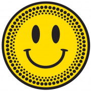 View and buy DMC Acid Happy face Slipmats MHAPPY Pair online
