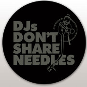 View and buy DMC Technics DJs Don't Share Needles Slipmats - Pair online