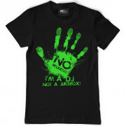 View and buy DMC I'm a DJ T-Shirt D080 Black online