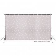 View and buy LEDJ 6 x 3m White LED Starcloth Cloth, WW (STAR07W) online