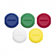View and buy Shure WA621 Colour ID Antenna Caps for Wireless Handhelds - Pack of 5 online