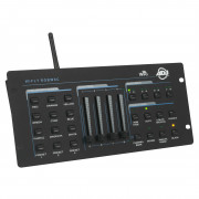 View and buy American DJ WiFly RGBW8C 64Ch WIFI DMX LED Controller online