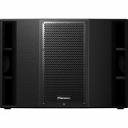 "View and buy Pioneer DJ XPRS215 Dual 15"" Active PA Subwoofer online"