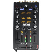 Akai AMX Mixing Surface with Audio Interface for Serato DJ Pro