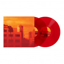 Serato Glass Series Vinyl Pair - Red