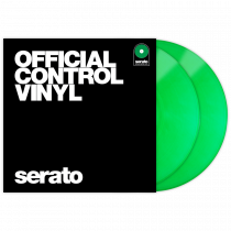 Serato Performance Series Vinyl Pair - Green