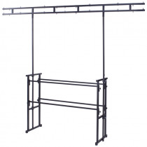 Equinox 4ft Pro Disco Stand and Twin Bar Overhead Kit (STAN12A)