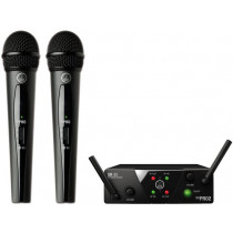AKG WMS40 Mini Dual Vocal Set Wireless Mic System