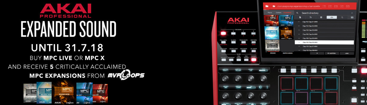 free expansions with Akai MPC